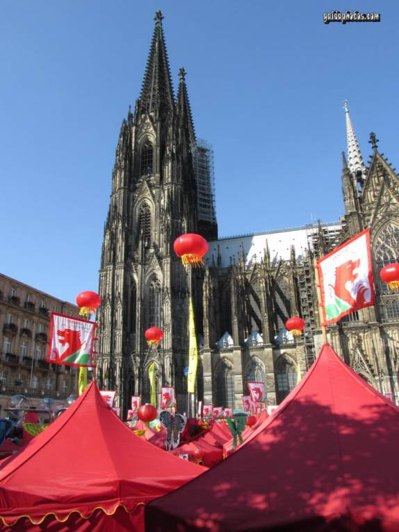 Kölner Dom, China Fest