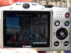 Canon Powershot SX 160 IS - Display