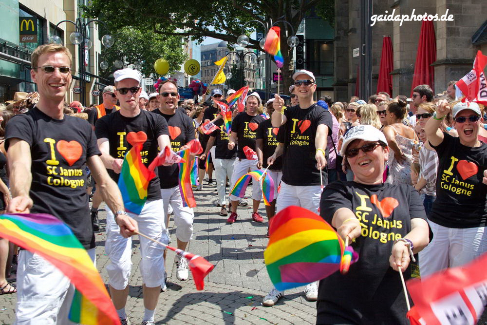 CSD Christopher Street Day in Köln 2013