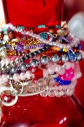 Perlen und Perlenketten Fotos