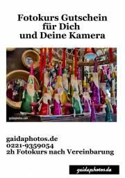 Fotokurs Geschenkgutscheine