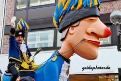 Rosenmontagszug 2013 in Köln