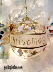 schöne Bilder zu Weihnachten: Weihnachtskugeln