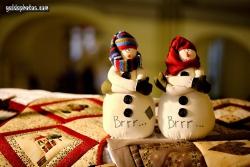 Weihnachtsbilder: Schneemann