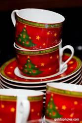 Weihnachtskaffeetassen Tannenbaum